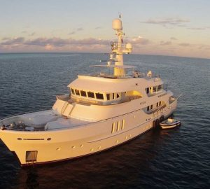 Special price for Papua New Guinea yacht charters aboard 35m BELUGA