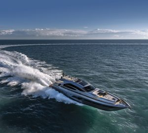 Pershing introduces the new carbon fibre Pershing 8X Open yacht