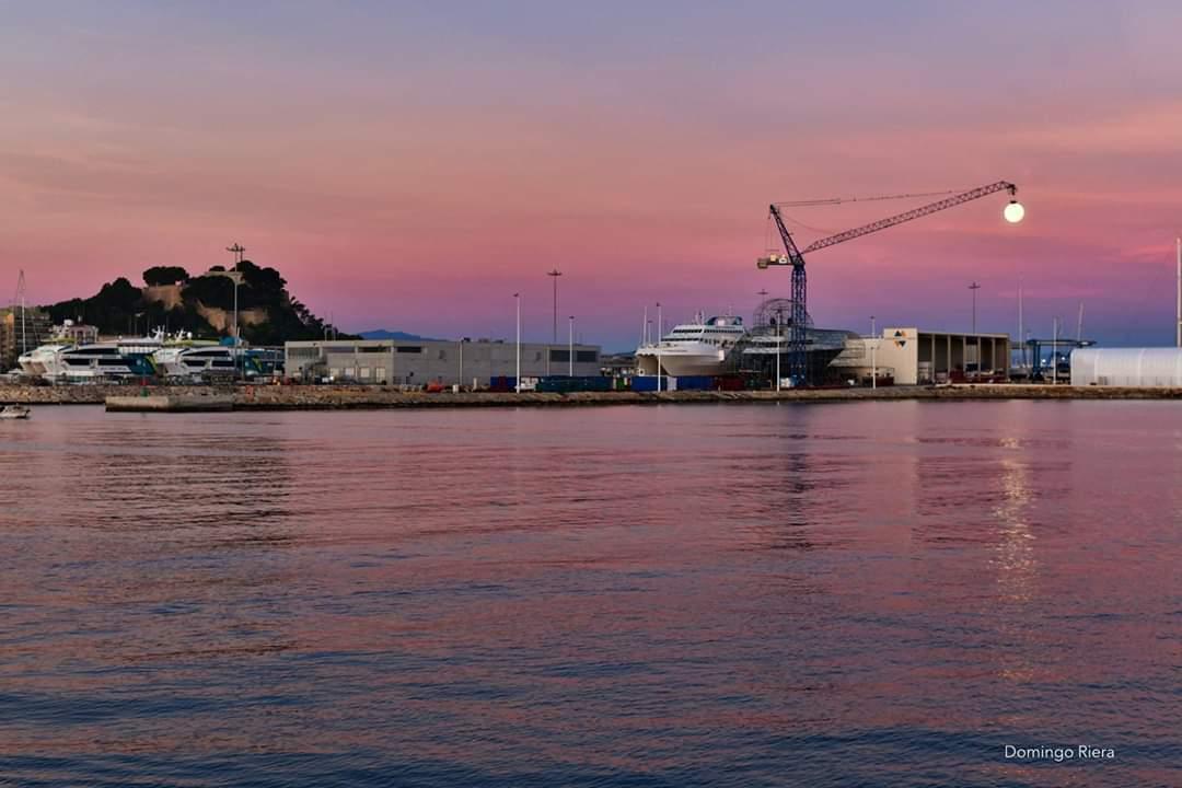 Port Denia shipyard in Spain