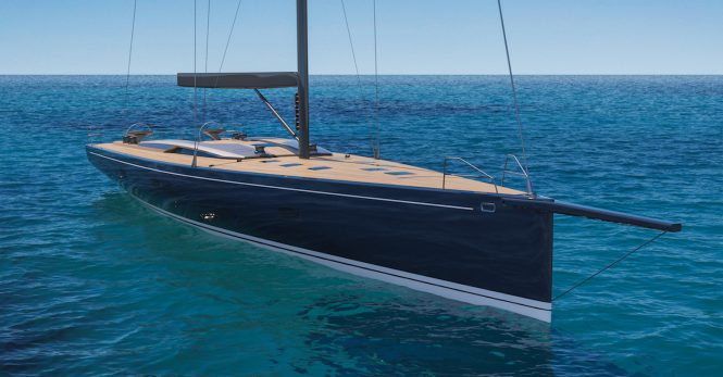 RP-Nauta 100 sailing yacht - Rendering
