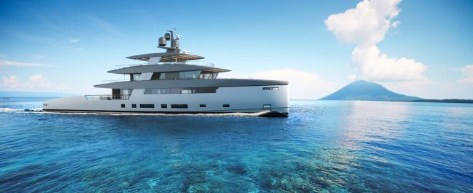 RSY 50m SVY Ceccarelli superyacht concept for Rosetti Superyachts