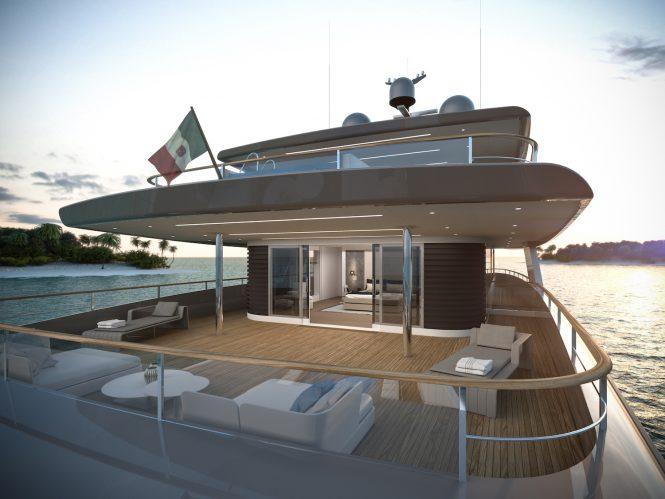 RSY 50m Aft deck