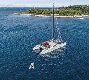 Caribbean yacht charter special with 24m catamaran TAJ