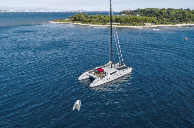 Sailing catamaran TAJ