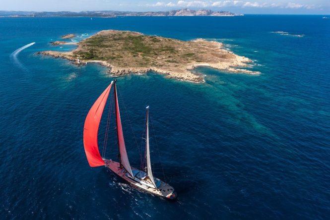 Sailing yacht SEAHAWK by Perini Navi