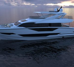 Sunseeker releases details on latest motor yacht model, Project 8X