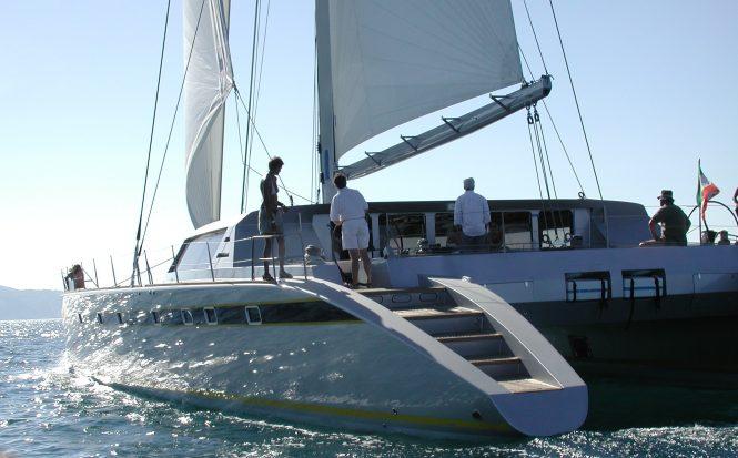 TAJ - ex Coriolan VI sailing catamaran