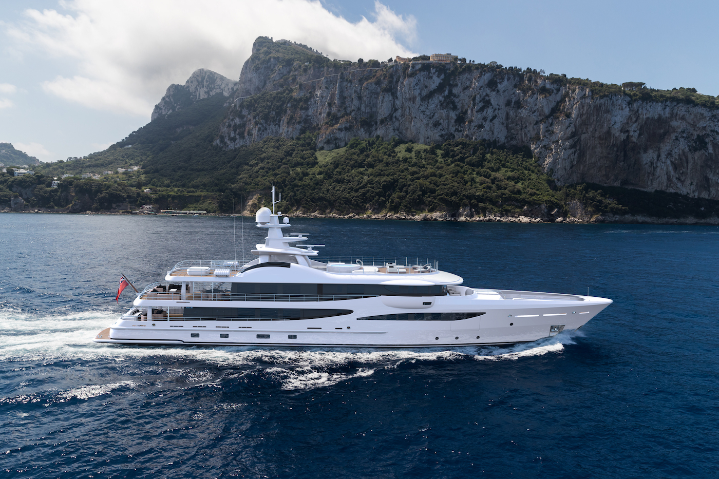 25th Amels 180 superyacht sold