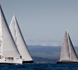 Millennium Cup, a Certified 'Clean Regatta'  kicks off 2019 superyacht regattas in New Zealand