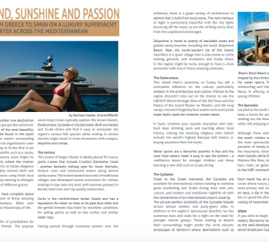 Featured in Family Office Magazine: From Greece To Spain On A Luxury Superyacht Charter Across The Mediterranean