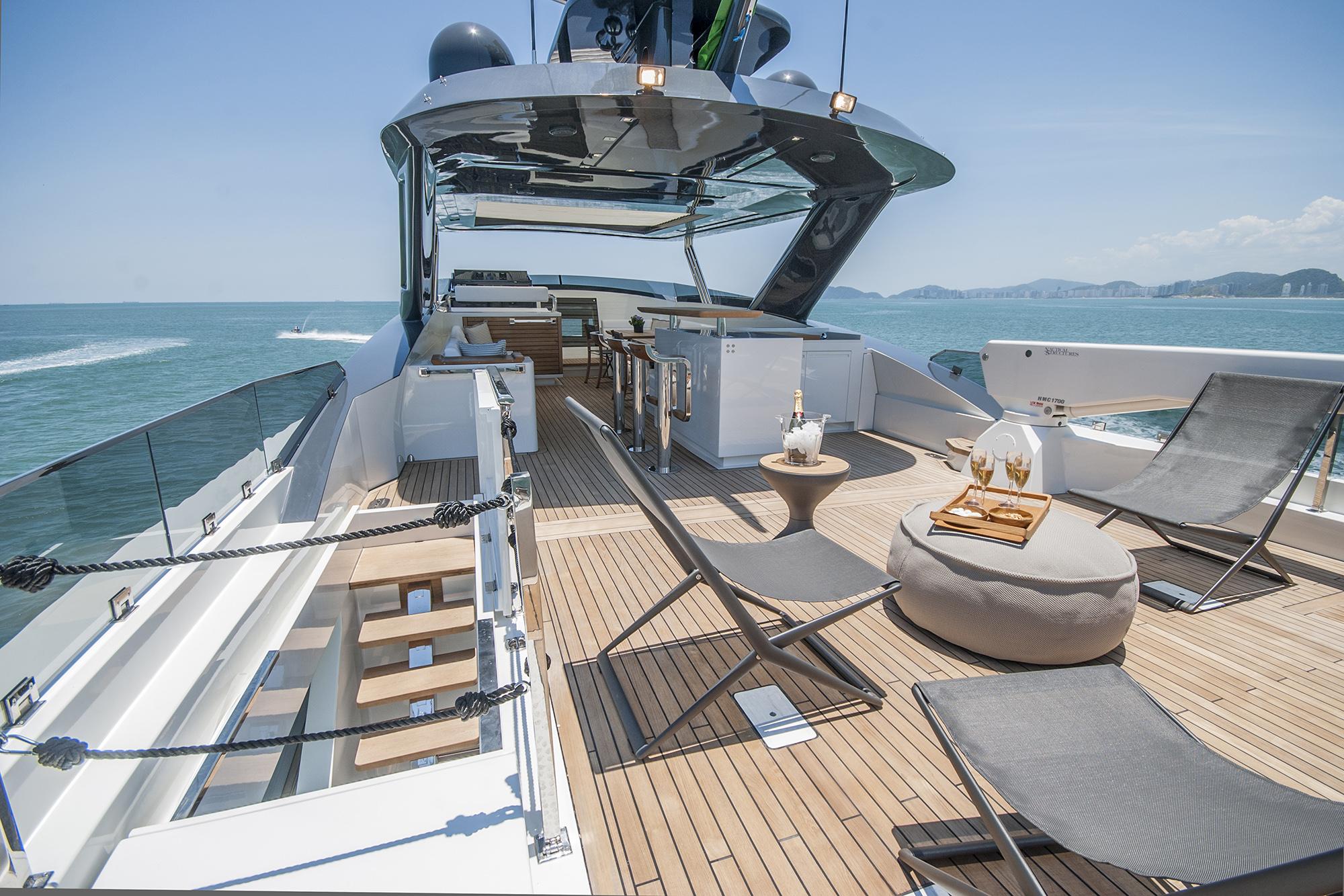 sun deck - © MCP Yachts