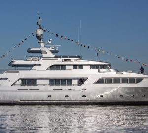 Codecasa Shipyard launch 43m Vintage Series motor yacht C122