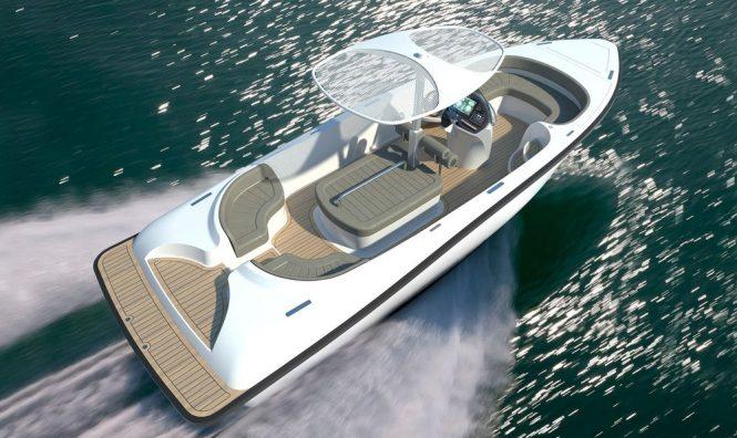 Pascoe International luxury tenders - 8m Open Landau Credit: Lloyd Images