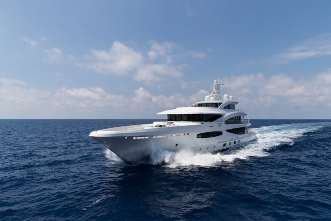 Amels motor yacht Volpini 2