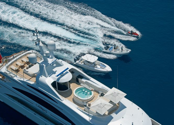 ANDREAS L superyacht available for charter in the Mediterranean