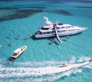 44m Superyacht AT LAST offering '8 Days for the price of 7' in the Bahamas