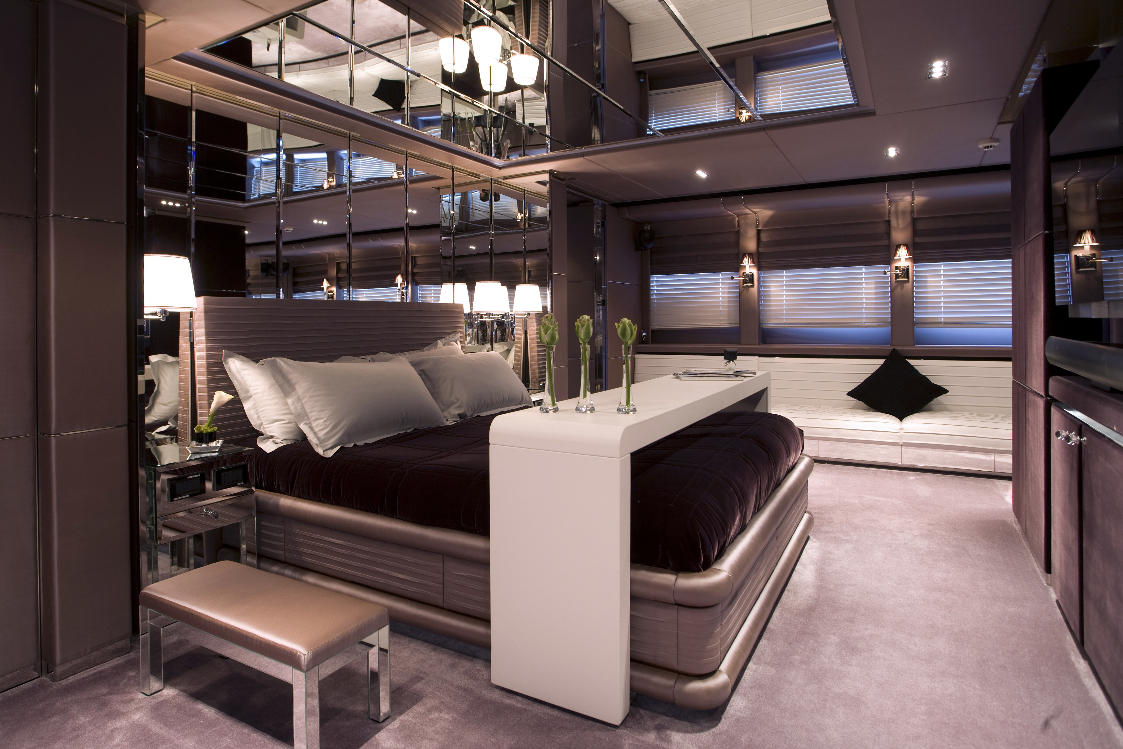 Accommodation in luxury