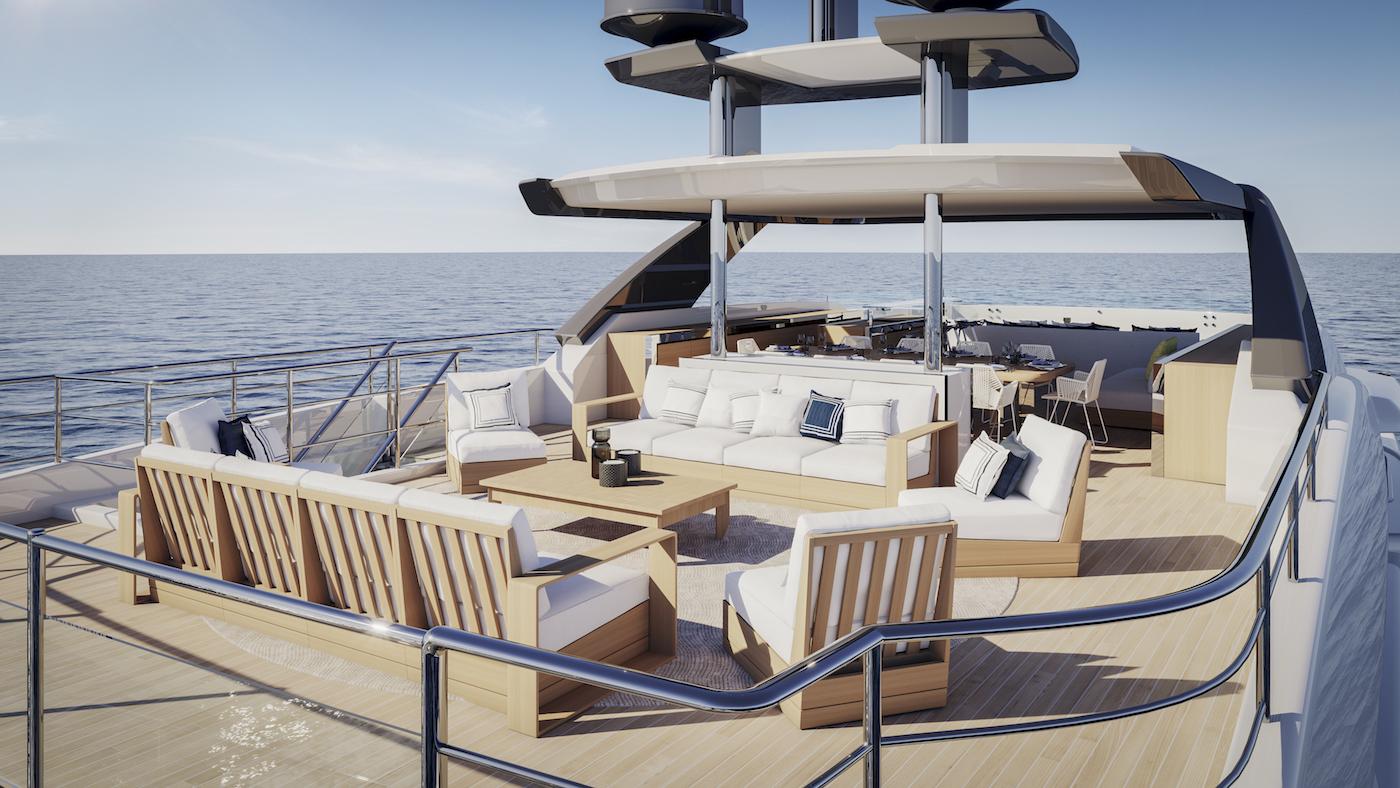 Benetti Diamond 145 sun deck