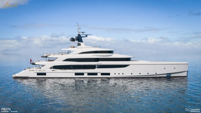 Benetti FB270 superyacht project VOGUE