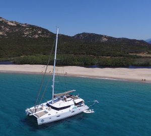 5% Discount on Mediterranean charters offered by 20m luxury catamaran LIR