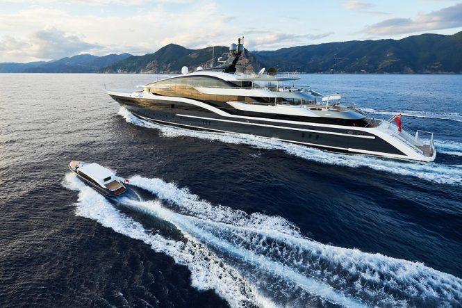 DAR mega yacht by Oceanco