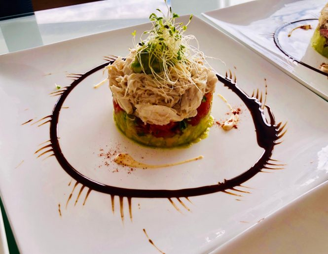 Delicious personalised meals created by your own personal Chef on board