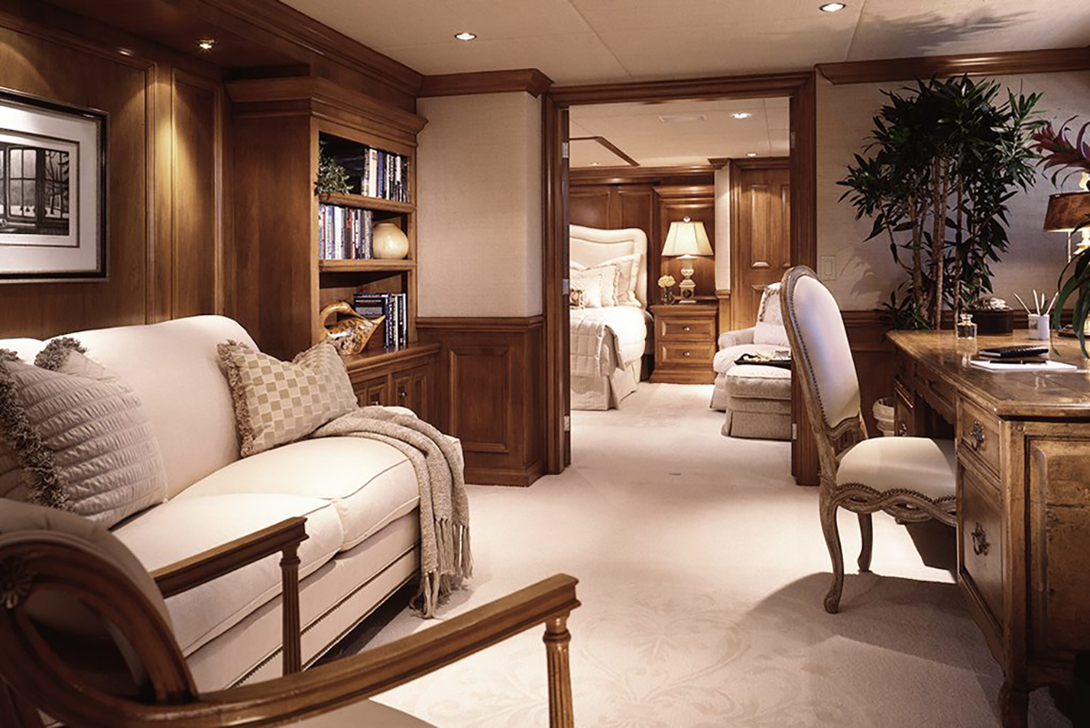 Elegant master suite office - © Marc-Michaels Interior Design