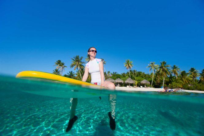 Enjoying the Caribbean yacht charter vacation