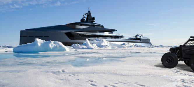 Expedition yacht ESQUEL concept - Image © Oceanco