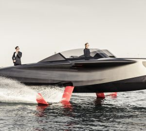 Dubai International Boat Show 2019 to debut of new flying foiler yacht from Enata