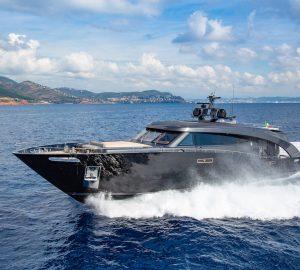 Inside Roberto Cavalli's 27m superyacht Freedom
