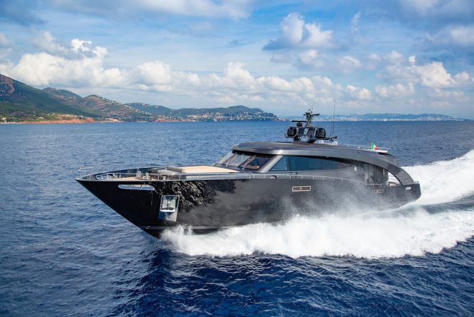 FREEDOM yacht running