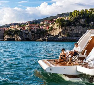 33m DECEMBER SIX offering reduced Monaco GP and Cannes Film Festival yacht charter rates
