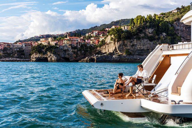 Great swim platform to enjoy the real Mediterranean summer and lifestyle