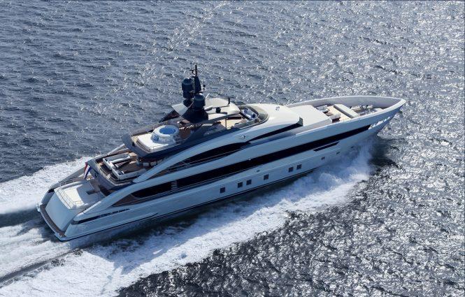 Heesen YN 18950 motor yacht Project Aquamarine
