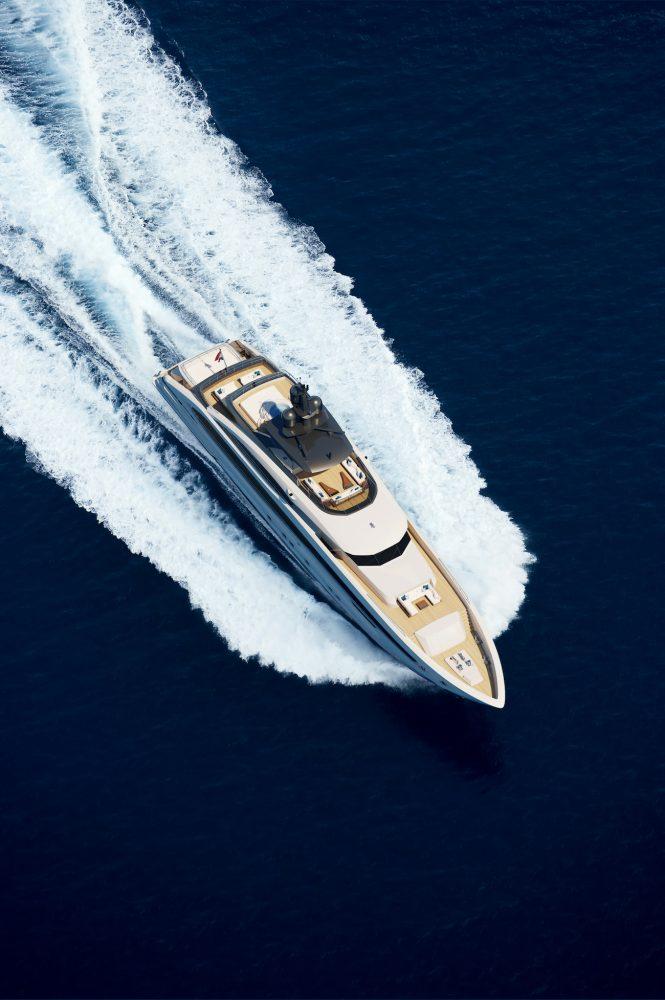 Heesen luxury yacht Project Aquamarine