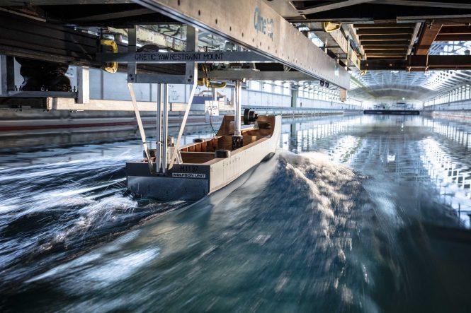 Heesen presents YN 18950 Project Aquamarine - tests