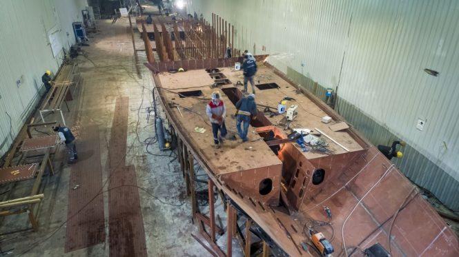 KANDO Hull number 2 under construction