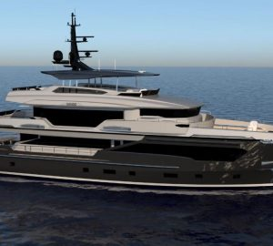 Kando 110 superyacht construction well under way for NBA's Tony Parker