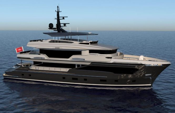 Kando 2 motor yacht