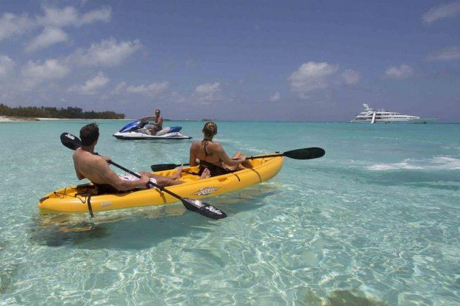 Kayak and Jetski