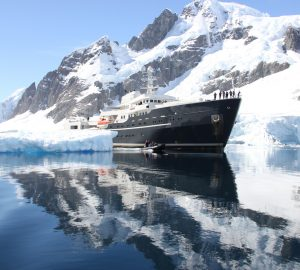 Last Minute Charter Deal in Antarctica with 77m Explorer Superyacht LEGEND
