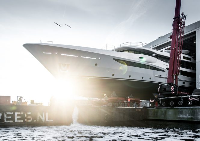 Launch of motor yacht AMELS 473