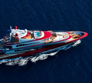 Special Monaco Grand Prix Yacht Charter Rates with 50m JOY ME