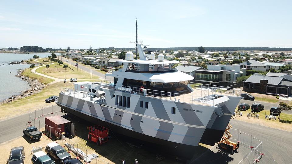 Luxury catamaran THE BEAST