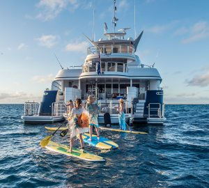 'No delivery fees' with 35m catamaran SPIRIT in Papua New Guinea