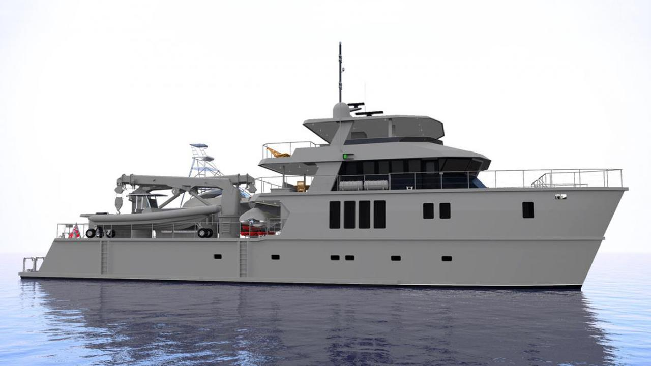 Luxury catamaran yacht THE BEAST