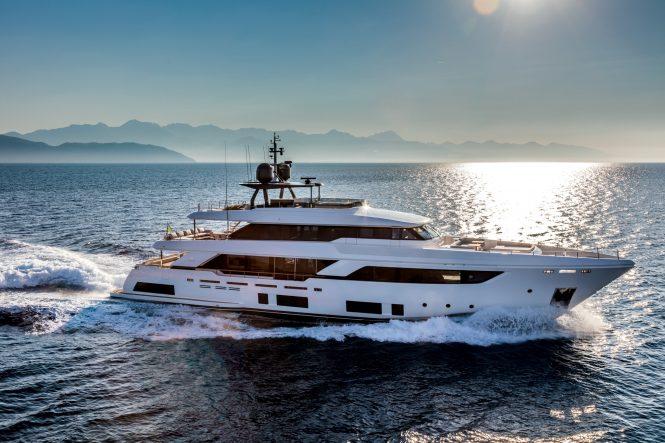 Luxury crewed charter yacht December Six