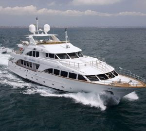 36m Yacht PURE BLISS offering special Caribbean charter rates