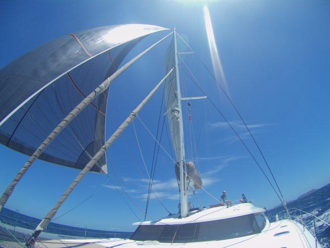 Luxury sailing catamaran LIR